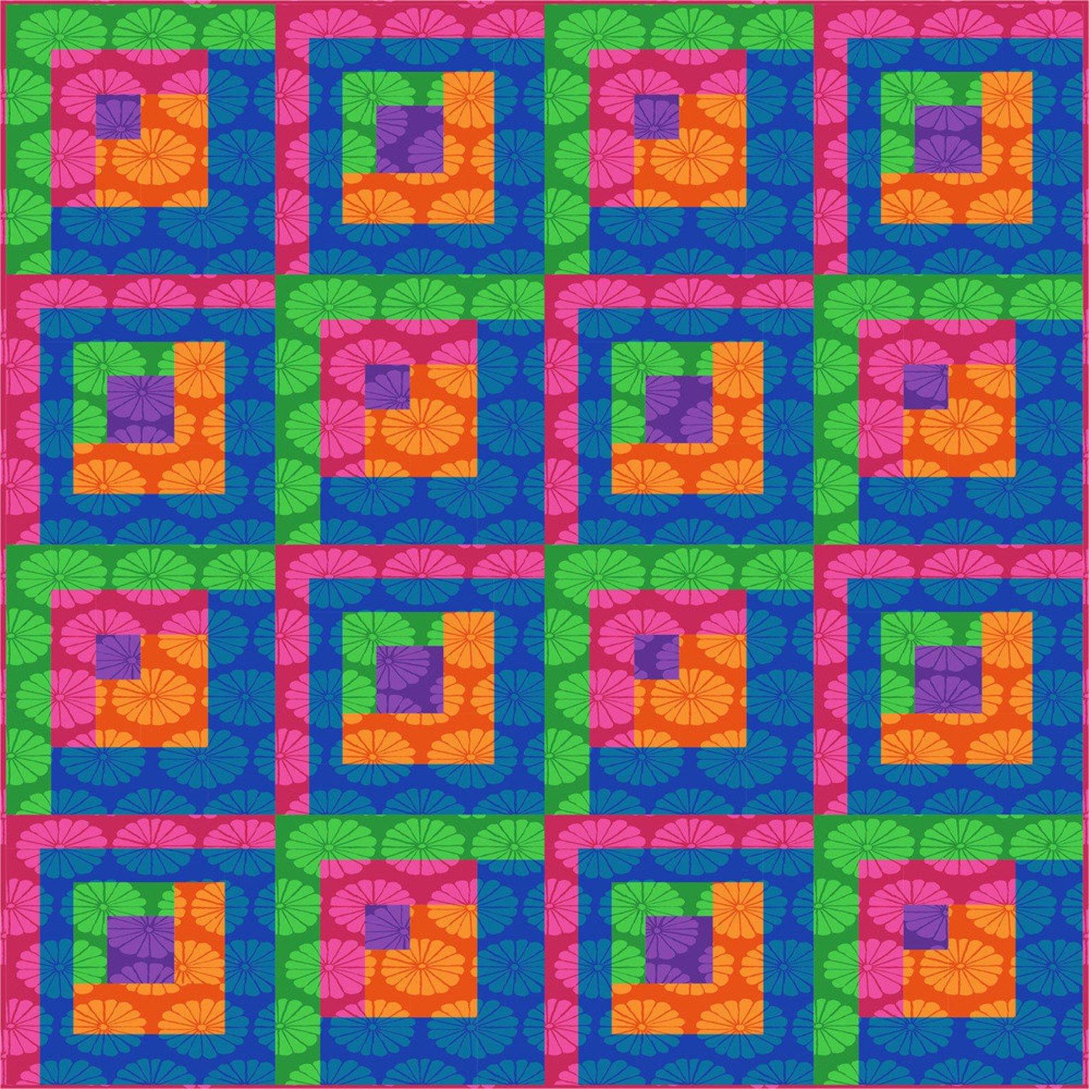 Folk Art Pattern by Tammy Silvers