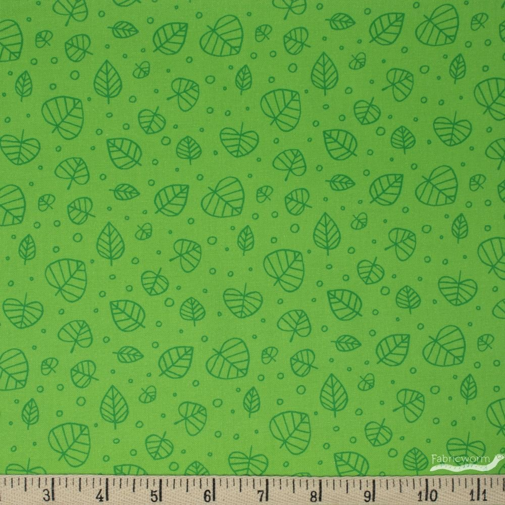 Windham Fabrics Forest Sprit Scattered Leaves