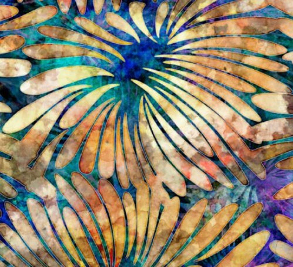 Large Floral - Tropicalia - QT Fabric