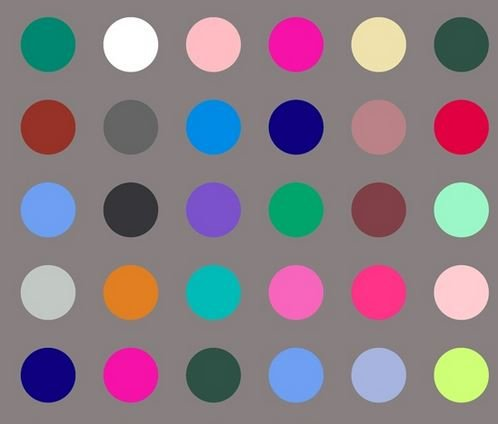 Many Colored Dots Quilt Back 108