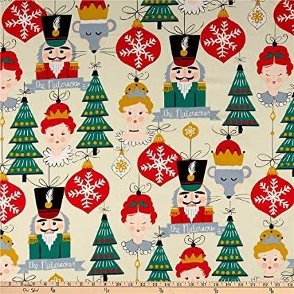 Alexander Henry Christmas Time Nutcracker