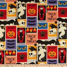 Alexander Henry Halloween Trick or Treat