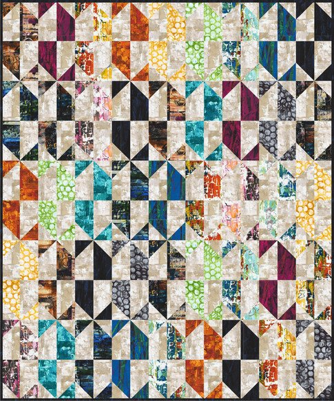 Collage Quilt Kit