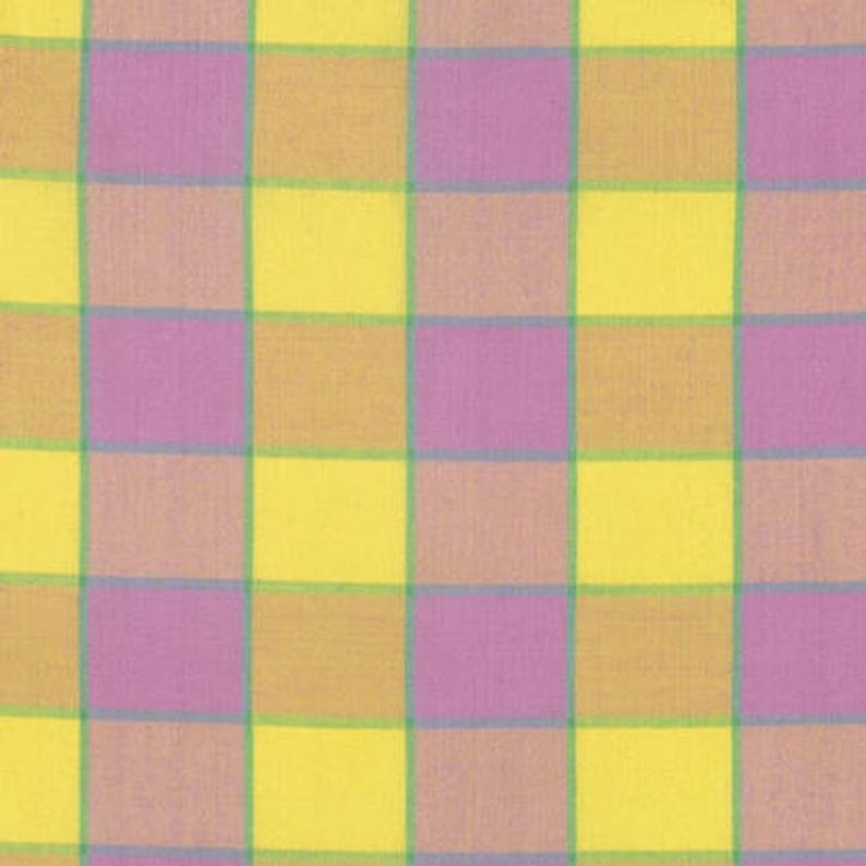 Kaffe Fassett Artisan - Checkerboard Plaid Ikat