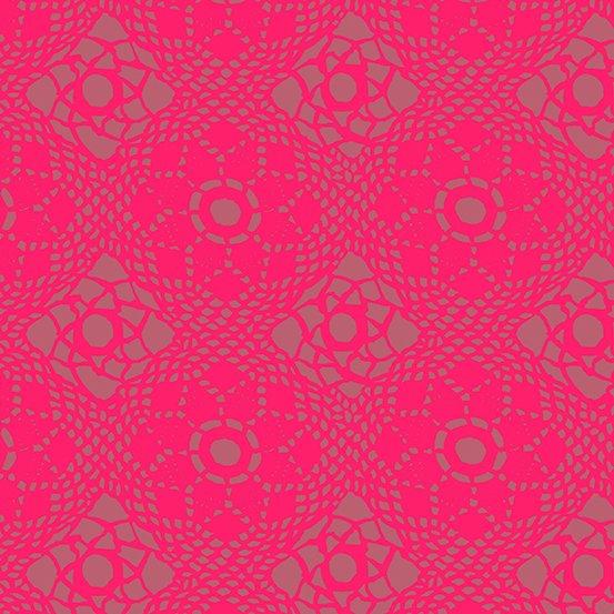 Sun Print 2021 Crochet in Strawberry, by Alison Glass
