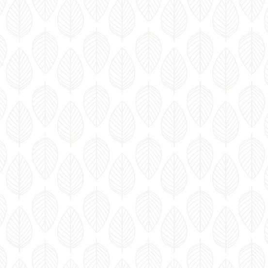 Essentials - Leaf - White