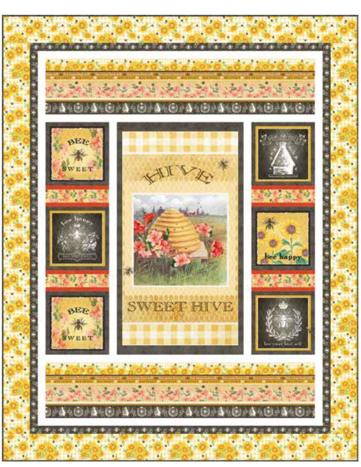 Bee Sweet Quilt Top Kit