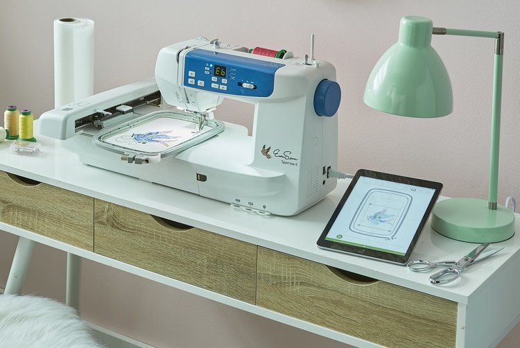 Sparrow X2 Embroidery and Sewing Machine Combo by Eversewn