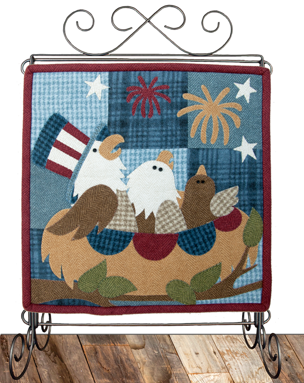 Little Quilts Squared - July