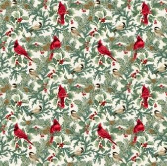 Winter Elegance Cardinal Natural