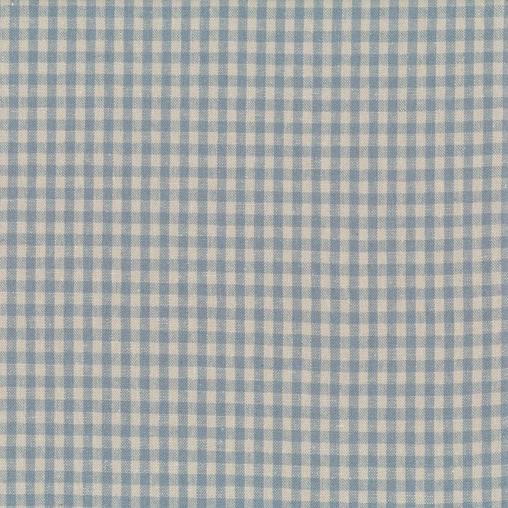 Shabby Chic Linen Blue Gingham