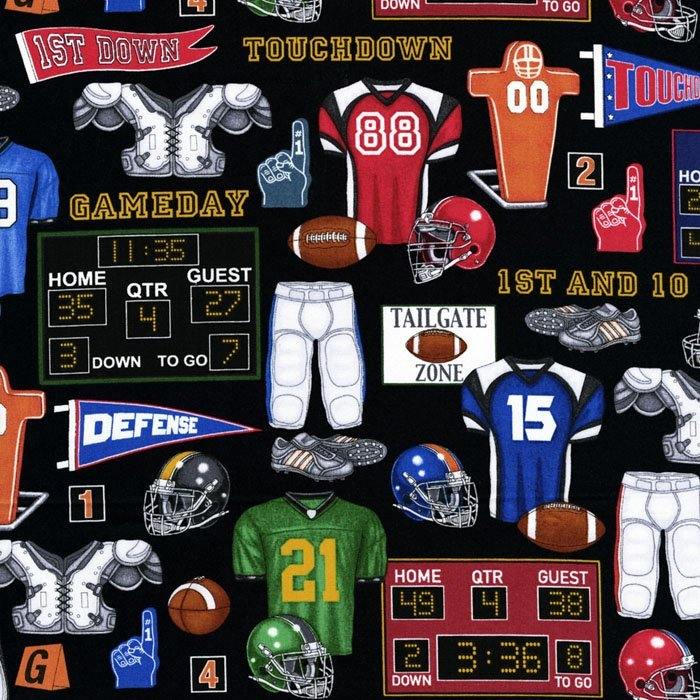 The Whole Nine Yards Football Gear