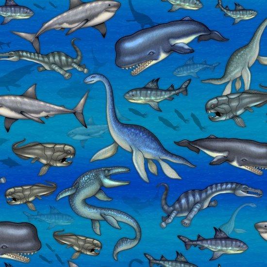 Jurassic Jungle SEA CREATURES