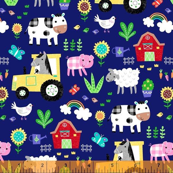 Life On the Farm Blue