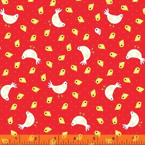 Red Chicks & Chickens