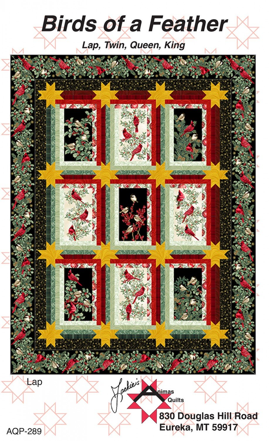 Birds of a Feather Lap Quilt Kit