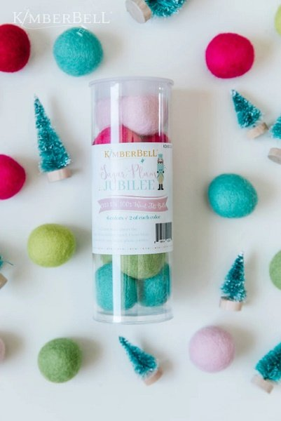 Wool Felt Balls Sugarplum Jubilee