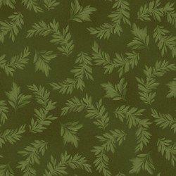 A Fruitful Life Tonal Leaves Green