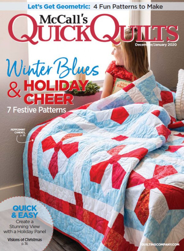 McCall's Quick Quilts December/January 2020