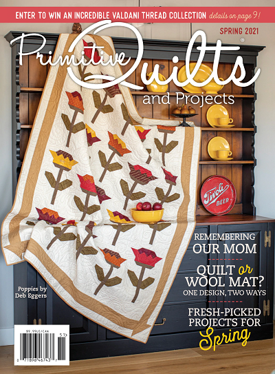 Primitive Quilts and Projects - Spring 2021