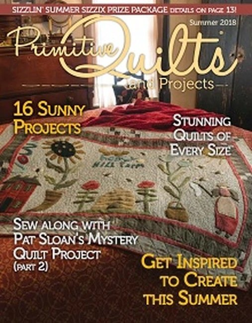 Primitive Quilts & Projects - Summer 2018