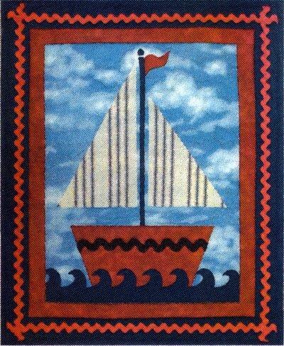 Sailing Petite Quilt Kit
