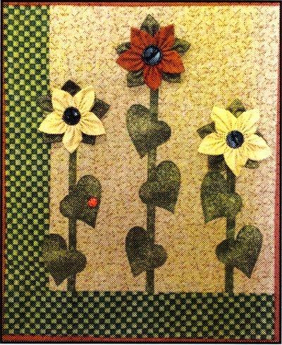 Sunflowers Petite Quilt Kit