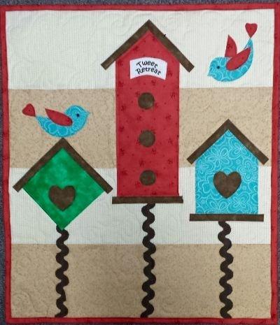 Tweet Retreat Petite Quilt Kit