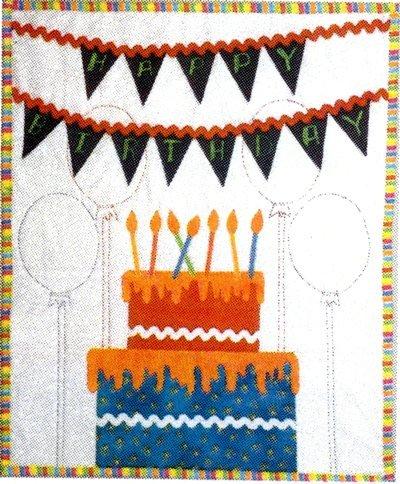 Happy Birthday Petite Quilt Kit