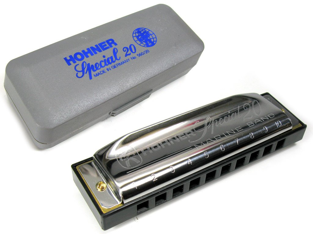 HOHNER SPECIAL 20 HARMONICA G