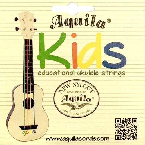 Aquila Kids Educational Uke Strings - Soprano, Concert, Tenor