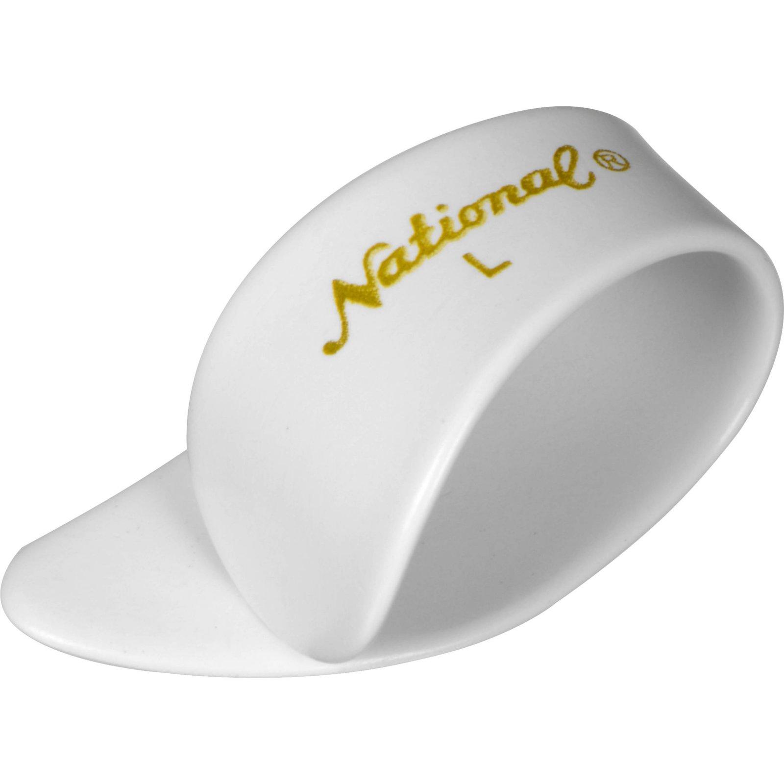 National Large Thumbpick White