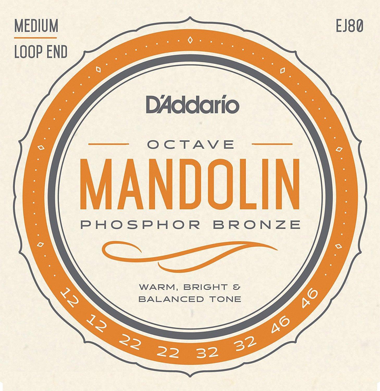 D'Addario OCTAVE MANDOLIN PB MED EJ80