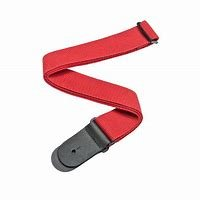 Planet Waves Cotton Guitar Strap, Red