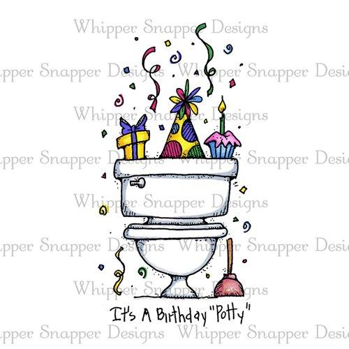 BIRTHDAY POTTY