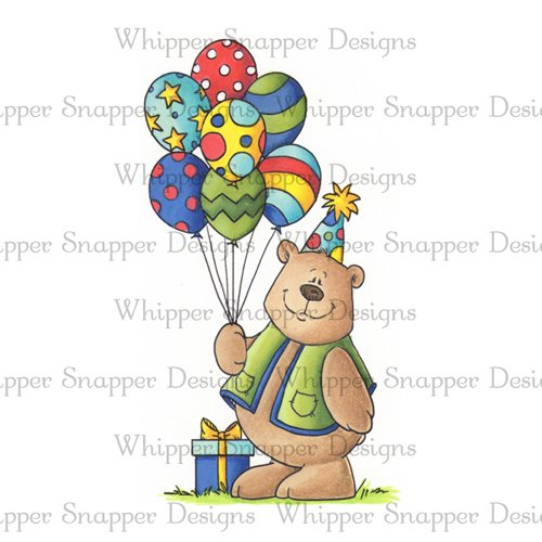 BALLOON BIRTHDAY BEAR