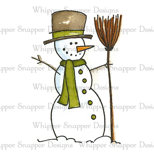 BROOMSTICK SNOWMAN