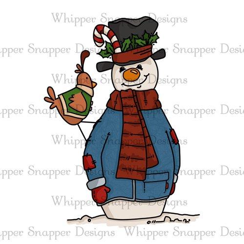 BUDDY & HOLLY SNOWMAN