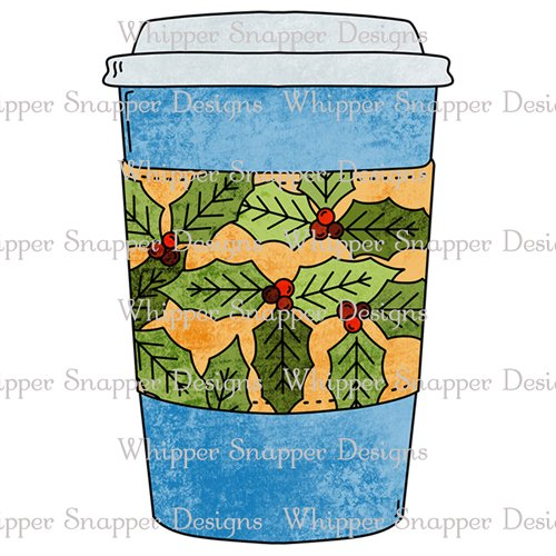 HOLLY COFFEE CUP