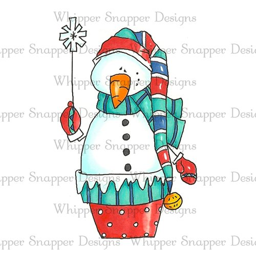 BLUSTER THE SNOWMAN