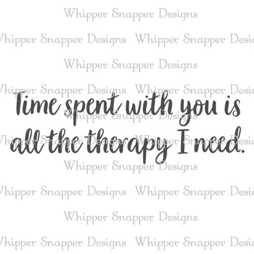 ALL THE THERAPY