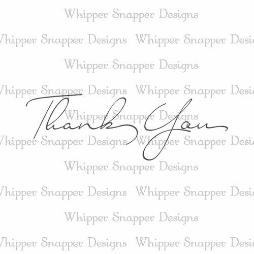 SCRIPT THANK YOU