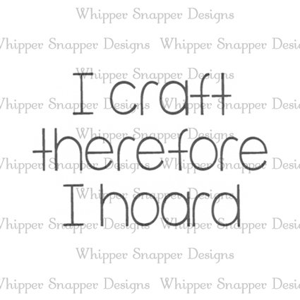 I CRAFT THEREFORE
