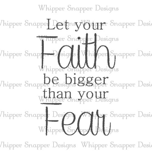 BIGGER THAN FEAR