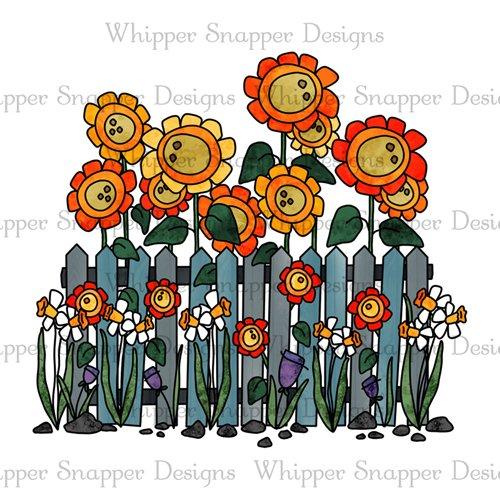 FLOWER GARDEN FENCE