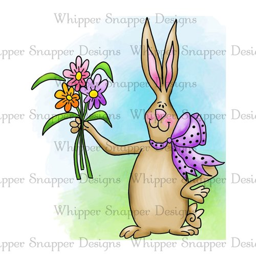 BUNNY WITH BOUQUET
