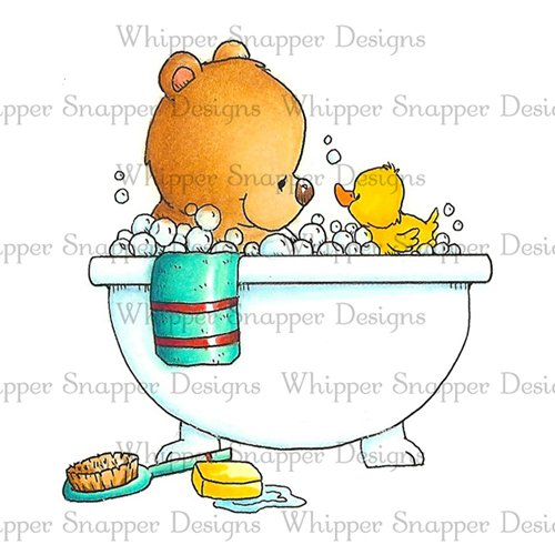 TEDDY BEAR BATH