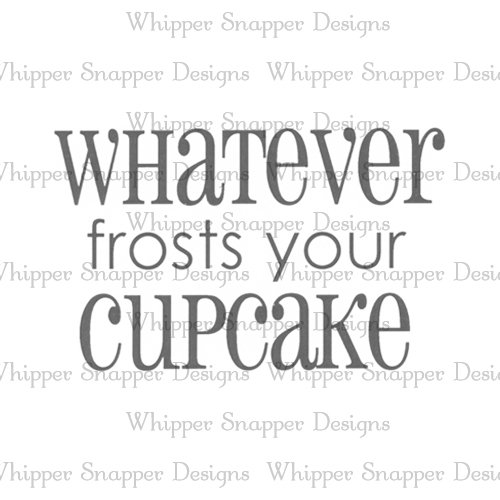 FROSTS YOUR CUPCAKE