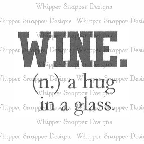 HUGS IN A GLASS