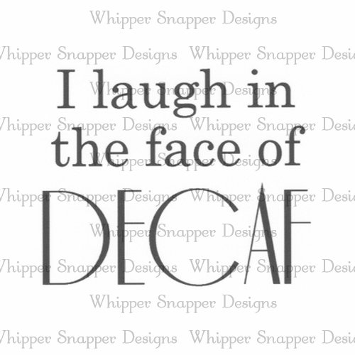 FACE OF DECAF